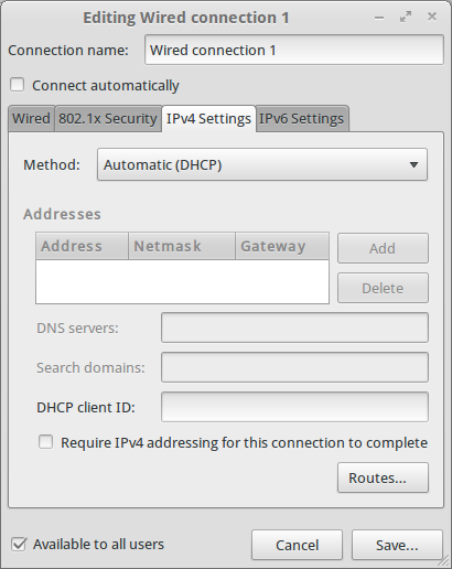 Setup DHCP Client Ubuntu How to Install and Configure DHCP Server on Ubuntu Server 12.04 LTS
