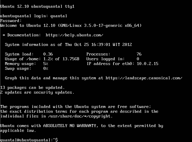 Step 47 Ubuntu Server 12.10 64 Ubuntu Server 12.10 Quantal Quetzal Installation Guide