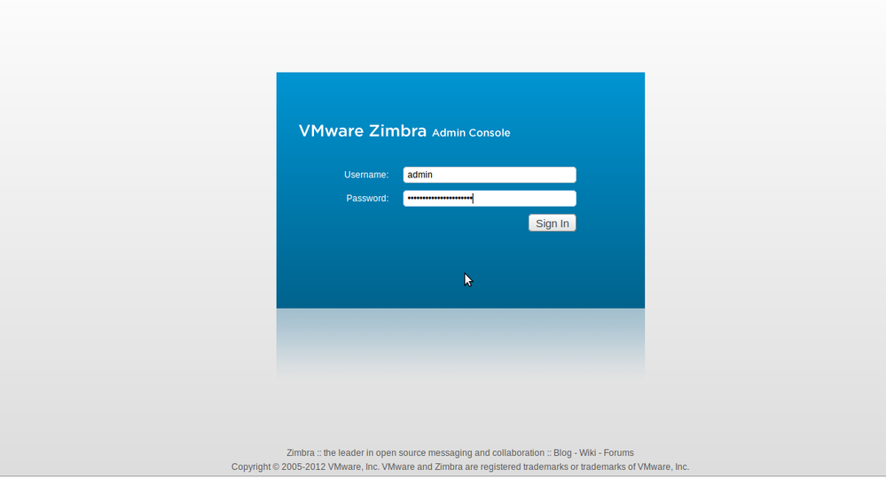 Zimbra Administration How to Setup Zimbra Collaboration Suite Open Source Edition 8.0.2 in Ubuntu Server 12.04