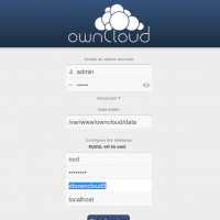 ownCloud 5 configuration 200x200 How to Install OwnCloud 5 in Ubuntu Server 12.10