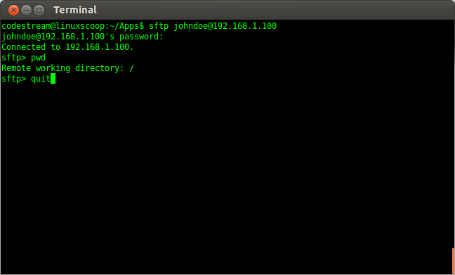 Terminal 206 How to Install and Configure MySecureShell in Ubuntu Server Edition
